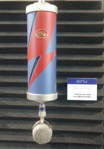 NAMM 2016 - Blue Microphones Tribute to David Bowie